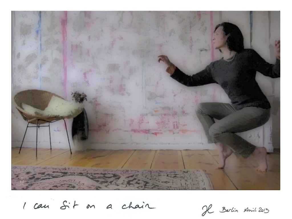 Jeanne Laurent Paris I can sit on a chair