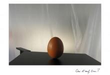 Que l'œuf cru
