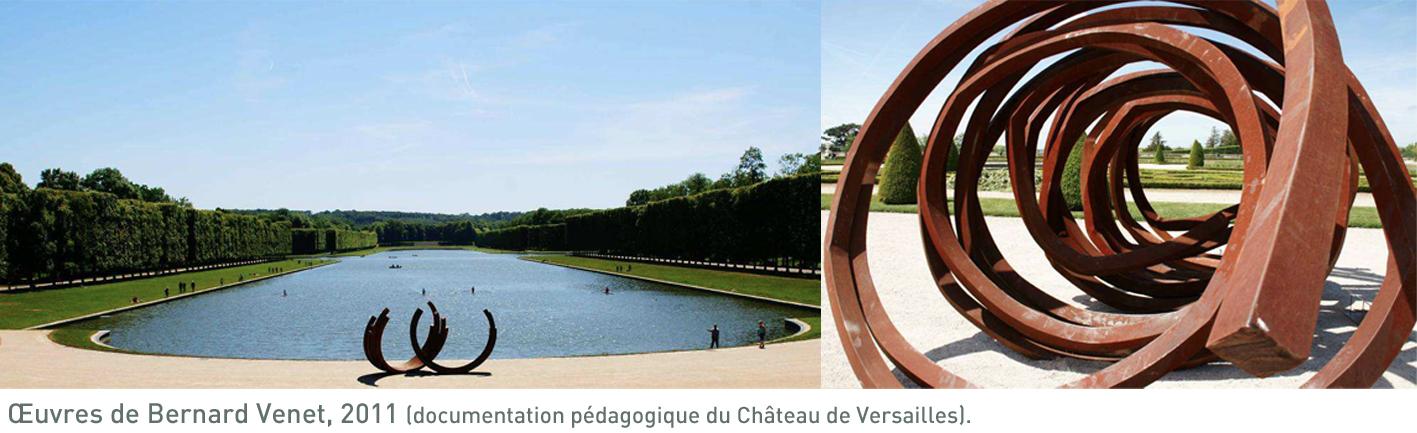 Bernard Venet à Versailles