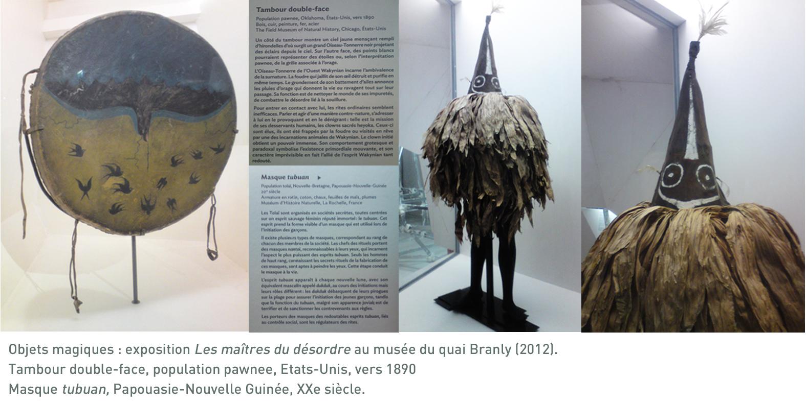 Les maitres du désordre au musée du Quai Branly